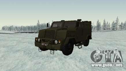 MIC-3924 Blindados Oso para GTA San Andreas