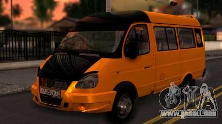 Gacela 3221 de 2007 para GTA San Andreas