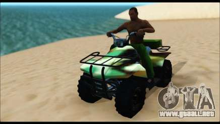 ATV Army Edition para GTA San Andreas
