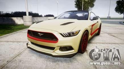 Ford Mustang GT 2015 Custom Kit red stripes para GTA 4