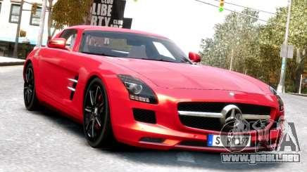 Mercedes-Benz SLS AMG 2011 [EPM] para GTA 4
