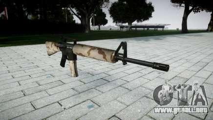 El rifle M16A2 sahara para GTA 4