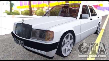 Mercedes Bad-Benz 190E (34 DDK 82) para GTA San Andreas