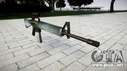 El rifle M16A2 [óptica] heladas para GTA 4