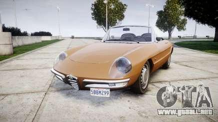 Alfa Romeo Spider 1966 para GTA 4