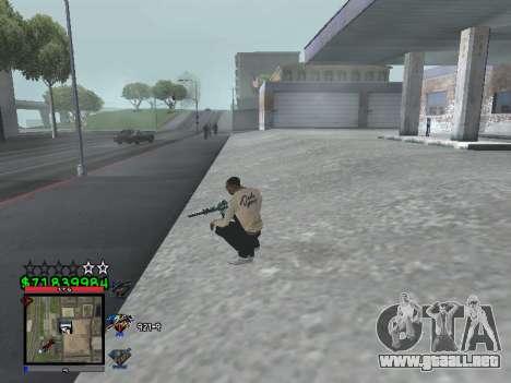 C-HUD by Santi para GTA San Andreas tercera pantalla