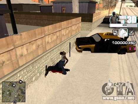 C-HUD 3D para GTA San Andreas segunda pantalla