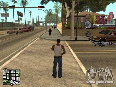C-HUD Universal v2 para GTA San Andreas segunda pantalla
