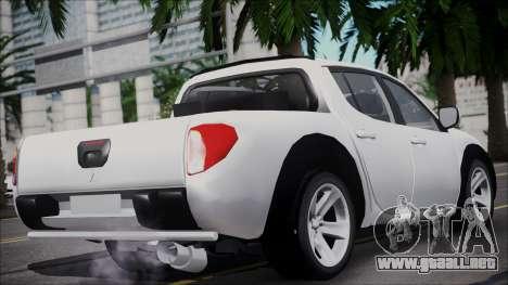Mitsubishi Triton para GTA San Andreas left