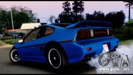 Pontiac Fiero GT G97 1985 IVF para GTA San Andreas left