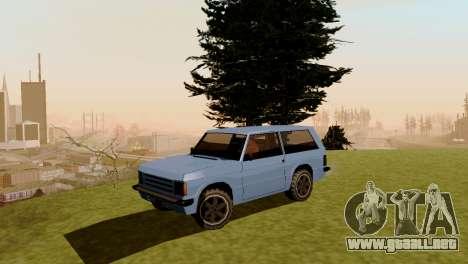 Nuevo transporte y compra para GTA San Andreas sexta pantalla
