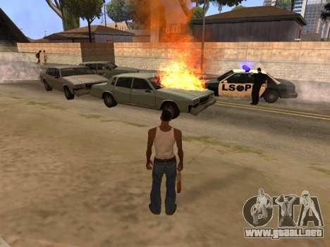 New Realistic Effects 4.0 Full Final Version para GTA San Andreas segunda pantalla
