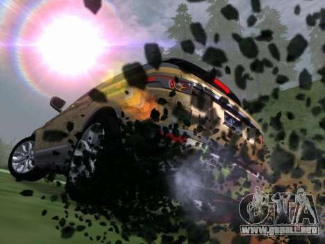 Los Santos MG19 ENB para GTA San Andreas segunda pantalla