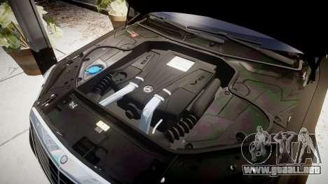 Mercedes-Benz S500 W222 para GTA 4 vista interior