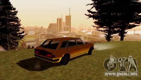 Nuevo transporte y compra para GTA San Andreas tercera pantalla