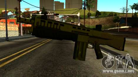 Bullpup Shotgun from GTA 5 para GTA San Andreas