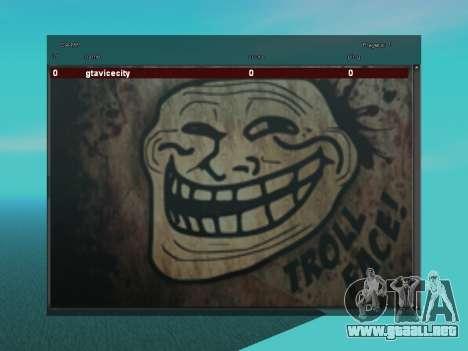 Sampgui TrollFace para GTA San Andreas