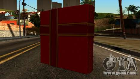 New Year Remote Explosives para GTA San Andreas segunda pantalla