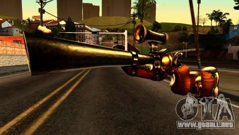 Assault Rifle from Redneck Kentucky para GTA San Andreas