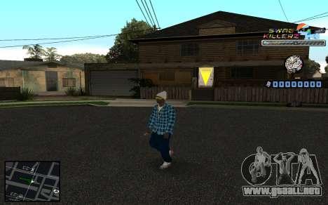 C-HUD SWAG Killerz para GTA San Andreas tercera pantalla