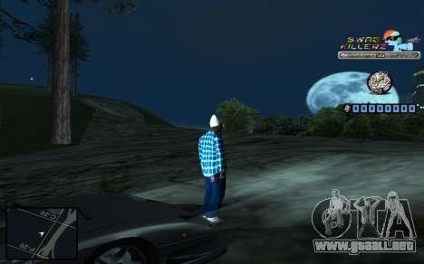 C-HUD SWAG Killerz para GTA San Andreas séptima pantalla