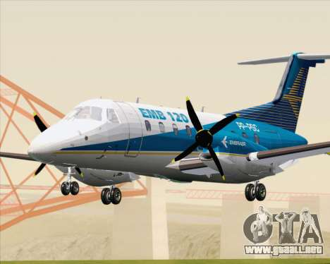 Embraer EMB 120 Brasilia Embraer Livery para GTA San Andreas