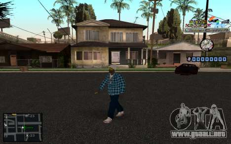 C-HUD SWAG Killerz para GTA San Andreas sucesivamente de pantalla