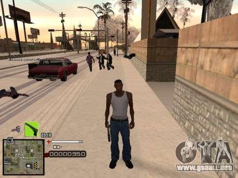 Un simple C-HUD para GTA San Andreas tercera pantalla