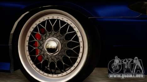 Nissan Silvia S15 Camber Edition para la visión correcta GTA San Andreas