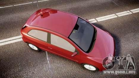 Volkswagen Gol G6 iTrend 2014 rims1 para GTA 4 visión correcta