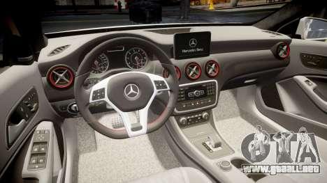 Mersedes-Benz A45 AMG PJs3 para GTA 4 vista lateral