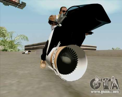 Air bike para la visión correcta GTA San Andreas