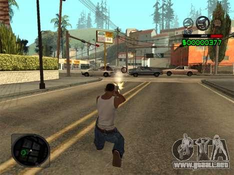 C-HUD by Radion para GTA San Andreas sucesivamente de pantalla