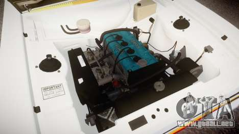 Ford Escort RS1600 PJ94 para GTA 4 vista hacia atrás