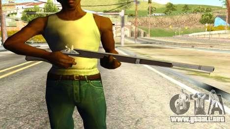 Rifle from GTA 5 para GTA San Andreas tercera pantalla