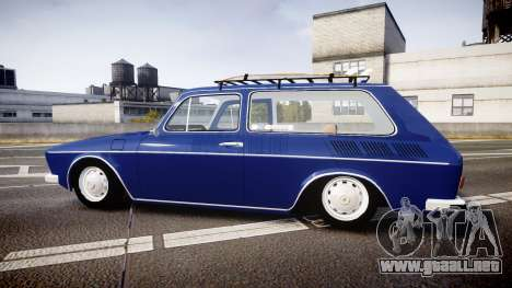 Volkswagen 1600 Variant 1973 para GTA 4 left