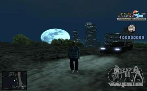C-HUD SWAG Killerz para GTA San Andreas sexta pantalla