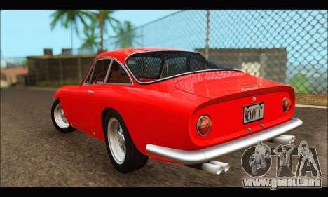 Ferrari 250 GT Berlinetta Lusso 1962 (HQLM) para GTA San Andreas vista posterior izquierda