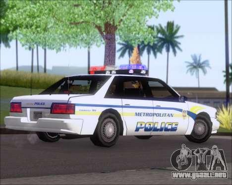 Police LS Metropolitan Police para la visión correcta GTA San Andreas