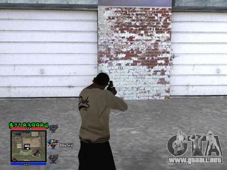 C-HUD by Santi para GTA San Andreas