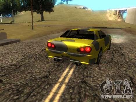 Vinilo Elegía para GTA San Andreas vista posterior izquierda