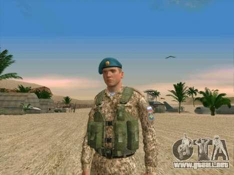 Granadero VDV para GTA San Andreas segunda pantalla
