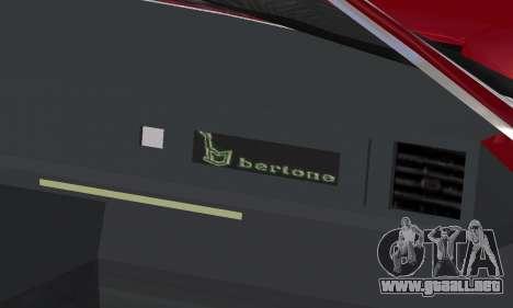 Fiat Bertone X1 9 para las ruedas de GTA San Andreas