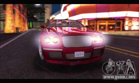 Enus Cognoscenti Cabrio (GTA V) para la visión correcta GTA San Andreas