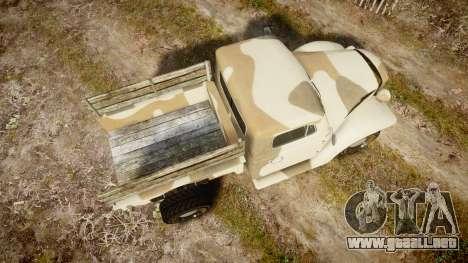 GTA V Bravado Rat-Loader camo para GTA 4 visión correcta