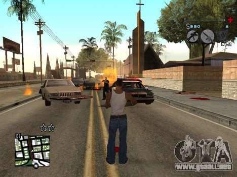 C-HUD Universal v3 para GTA San Andreas tercera pantalla