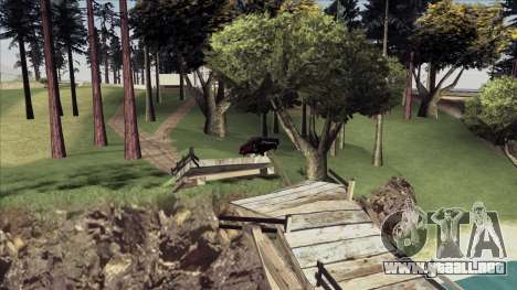 ENB Echo para GTA San Andreas sucesivamente de pantalla