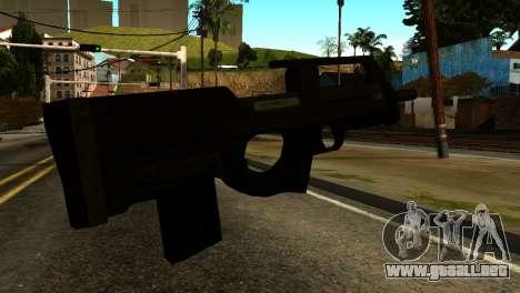 Assault SMG from GTA 5 para GTA San Andreas segunda pantalla