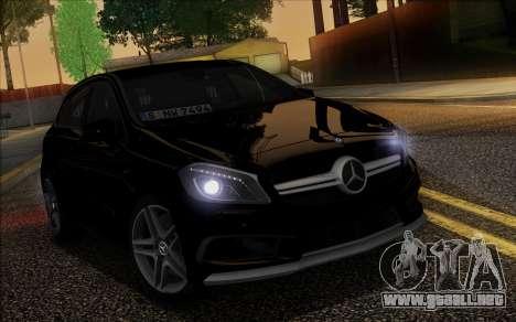 Mercedes-Benz A45 AMG para la vista superior GTA San Andreas