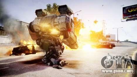 Enhanced Power Armor para GTA 4 adelante de pantalla
